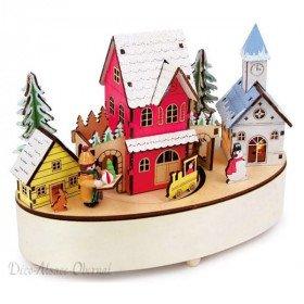 Music Box mit Winterlichter