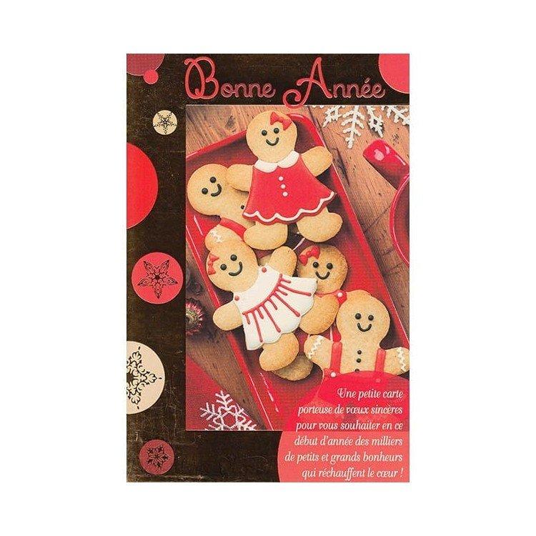Carte de Voeux Biscuits d'Alsace Bonne Année