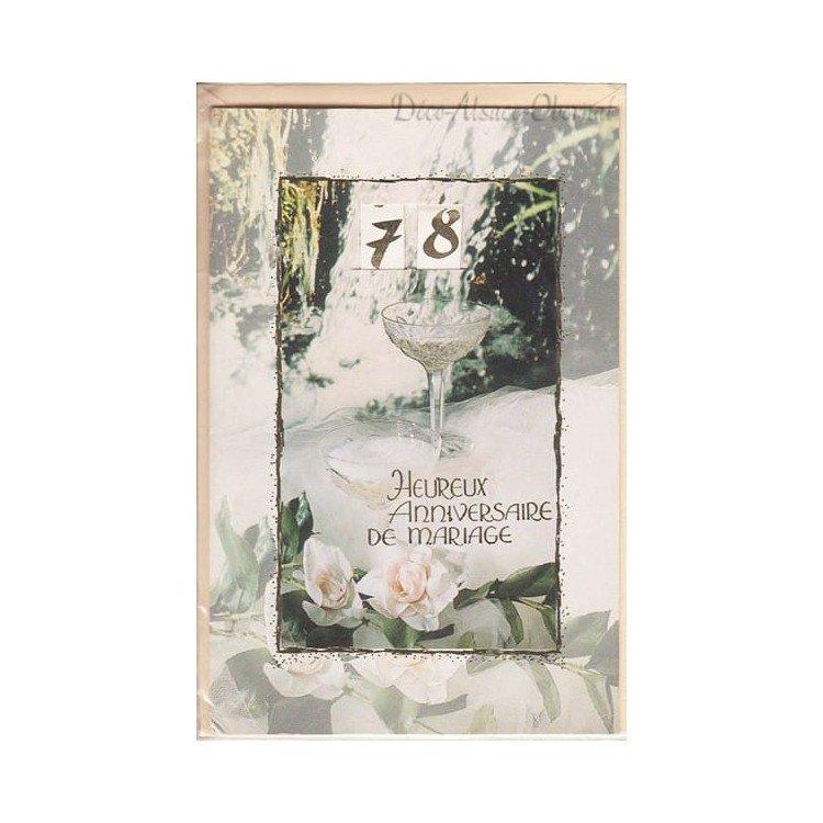 Retrouvez Carte Heureux Anniversaire de Mariage à Obernai