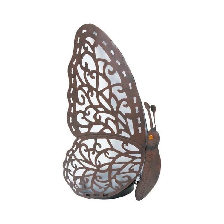 Retrouvez Lampe Papillon en métal et Led à Obernai
