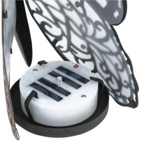 Lampe Papillon en métal et Led La Boite aux Trésors à Obernai