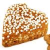 Lebkuchen Herz mit Honig Und Perlzucker