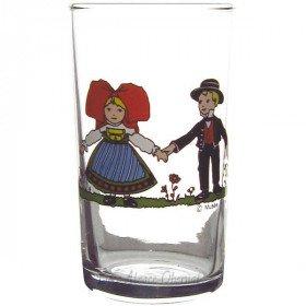 6 Tassen Wasser Säntis 10 cl Dekor Hansi