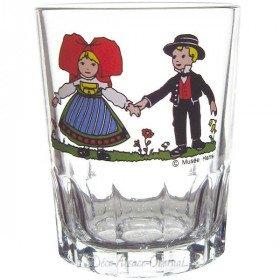 6 Wasserglas Tripsdrill 16 cl Dekor Hansi