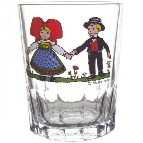 6 Wasserglas Tripsdrill 16 cl Dekor Hansi in La Boite aux Trésors in Obernai