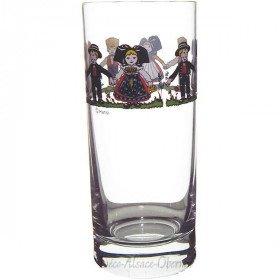 6 Gläser Limonade Dekor Hansi