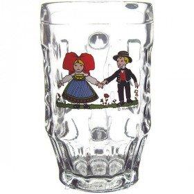 6 Bock Bier 30 cl Dekor Hansi in La Boite aux Trésors in Obernai