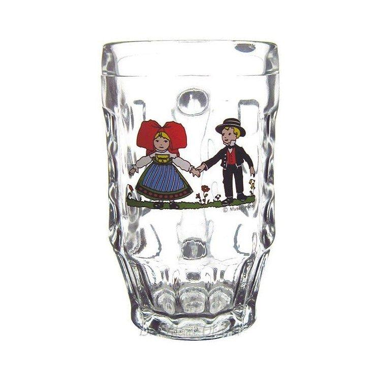 Bock à Bière 30 cl décor Hansi