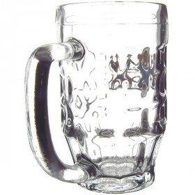 6 Bocks à Bière 30 cl décor Hansi La Boite aux Trésors à Obernai