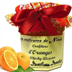 Confiture d'Orange au Whisky Alsacien