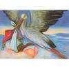 Postkarte Storch und Liesel