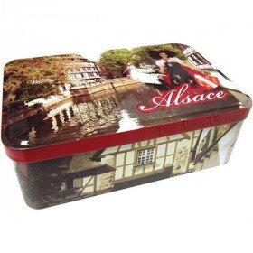 Alsace and Stork Decor Sugar Box