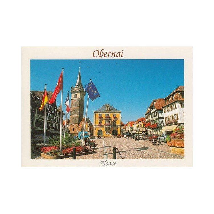 Carte Postale Obernai la Place du Marché