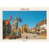 Postkarte Obernai Marktplatz