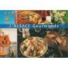 Postkarte Alsace Gourmet und Landschaften