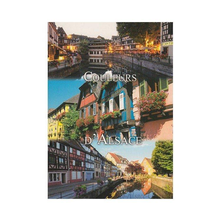 Retrouvez Carte Postale les Couleurs de l'Alsace à Obernai