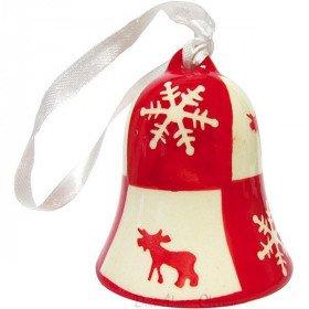 Ceramic bell to hang