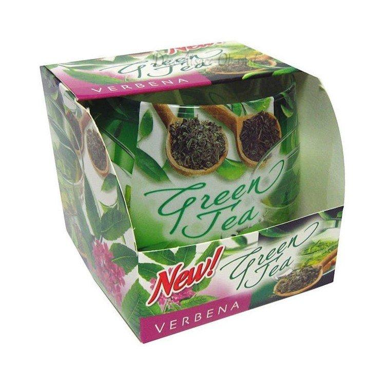 Découvrez Bougie parfumée Green Tea à la Verveine au Magasin La Boite aux Trésors à Obernai