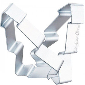 Stainless steel tree cookie cutter