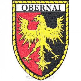 Autocollant Ecusson d'Obernai