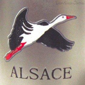 Porte Clé Chope en Métal marqué Alsace La Boite aux Trésors à Obernai