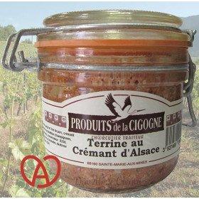 Terrine Artisanal Crémant d'Alsace