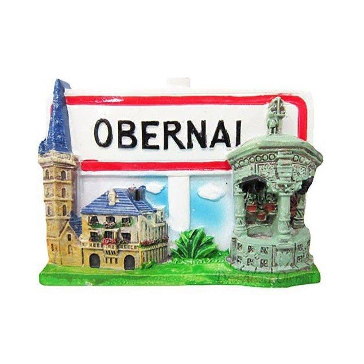 Retrouvez Magnet Décoratif Ville et Panneau Obernai à Obernai