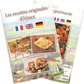Book the Original Recipes of Alsace