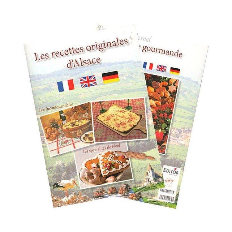 Découvrez Livre les Recettes Originales d'Alsace au Magasin La Boite aux Trésors à Obernai