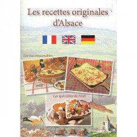 Livre les Recettes Originales d'Alsace La Boite aux Trésors à Obernai