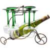 Unterstützung Tür Flasche und Weinglas Metall