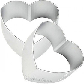 Aluminium Stanzform Herz