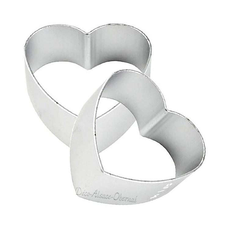 Découvrez Emporte Pièce en Aluminium forme de Coeur au Magasin La Boite aux Trésors à Obernai