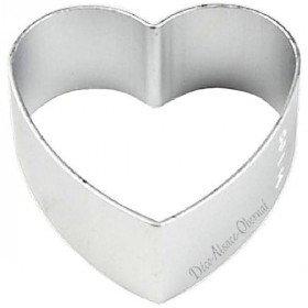 Emporte Pièce en Aluminium forme de Coeur La Boite aux Trésors à Obernai