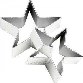 Emporte Pièce en Aluminium forme Etoile