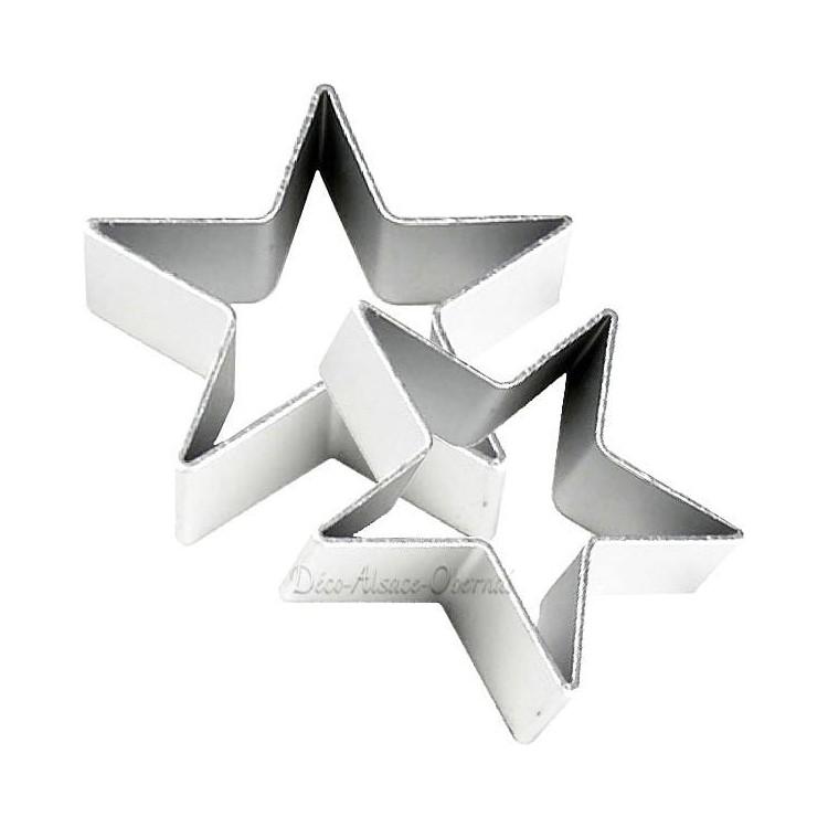 Emporte Pièce en Aluminium forme d'Etoile