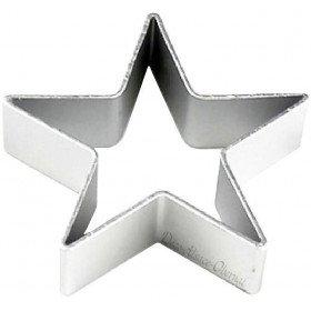 Emporte Pièce en Aluminium forme Etoile La Boite aux Trésors à Obernai