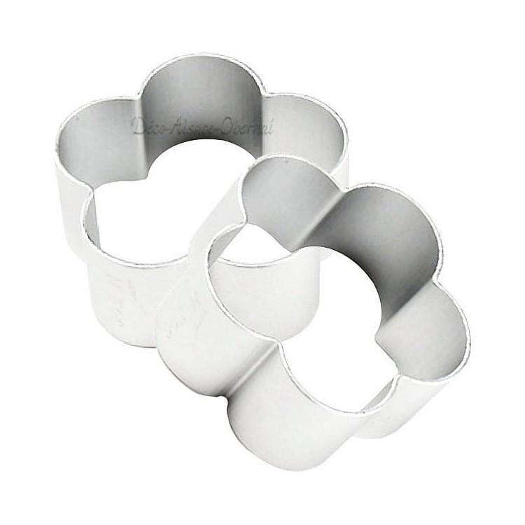 Emporte Pièce en Aluminium forme de Fleurs