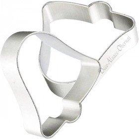 Bell-shaped Aluminum Cookie Cutter