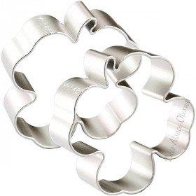 Gebäckstück aus Aluminium geformt Clover