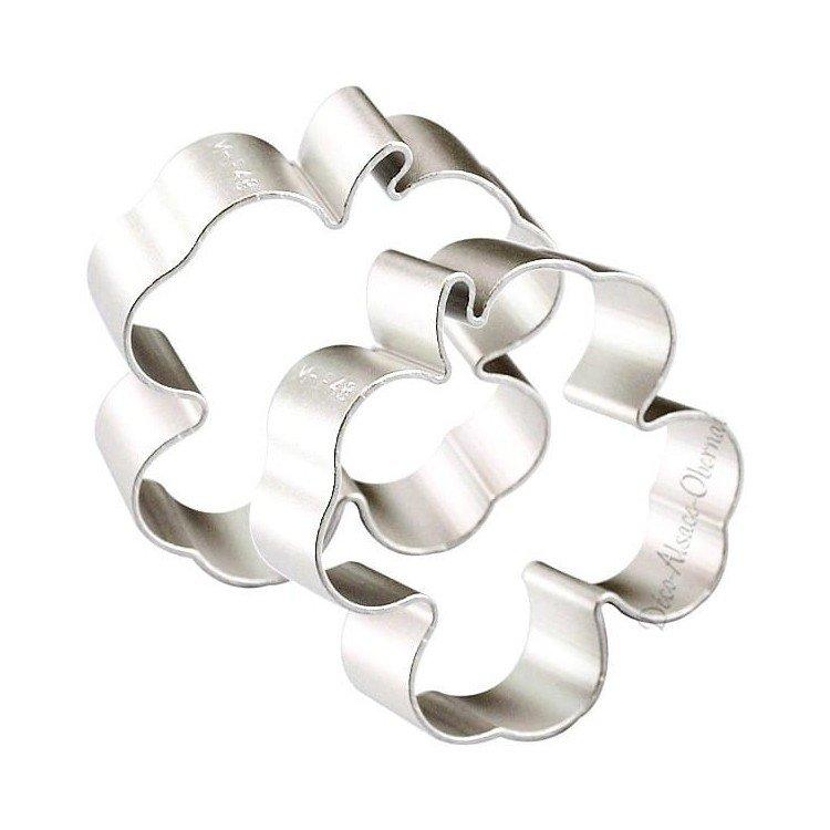 Découvrez Emporte Pièce en Aluminium forme de Trèfle au Magasin La Boite aux Trésors à Obernai