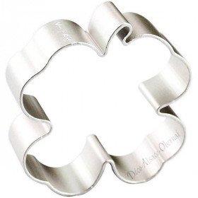 Gebäckstück aus Aluminium geformt Clover in La Boite aux Trésors in Obernai