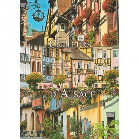 Postcard in the Colors of Alsace