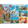 Postkarte Stork Big Küsse Alsace