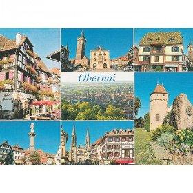 Postkarte Ansichten von Obernai