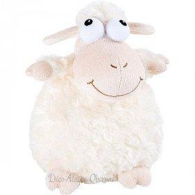 Lamb Plüsch Weiß Rosa