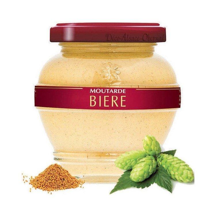 Moutarde Estivale d'Alsace à la Bière