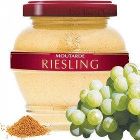 Moutarde Gastronomique d'Alsace au Riesling àLa Boite aux Trésors à Obernai