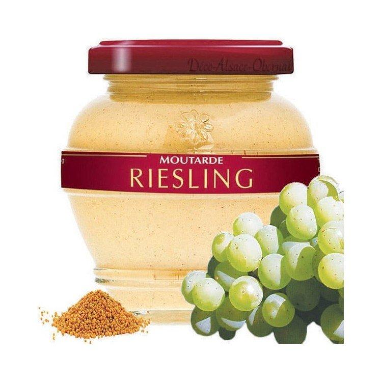 Découvrez Moutarde Gastronomique d'Alsace au Riesling au Magasin La Boite aux Trésors à Obernai