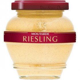 Moutarde Gastronomique d'Alsace au Riesling La Boite aux Trésors à Obernai